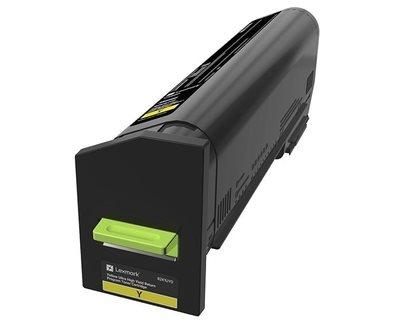 Lexmark Ultra HC Rückgabe-Tonerkassette Gelb