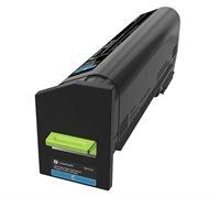 Lexmark Ultra HC Rückgabe-Tonerkassette Cyan