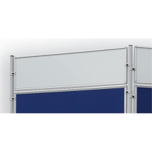 Magnetische Schreibtafel ECO, 120 x 30 cm, Weißwandtafel, lackiert