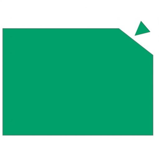 Magnetplatte, 295 mm x 20 cm, 0,6 mm, grün