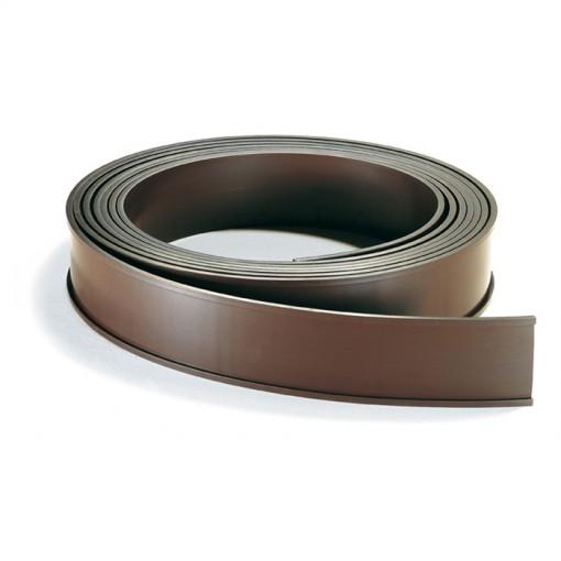 Magnetschild Fenstermagnet / Lagerschild, 1000 x 30 mm, braun