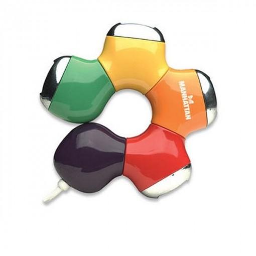 MANHATTAN USB-HUB FLEX