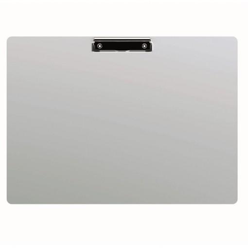 Maul A3 Schreibplatte Aluminium mit Bügelklemme Aluminium