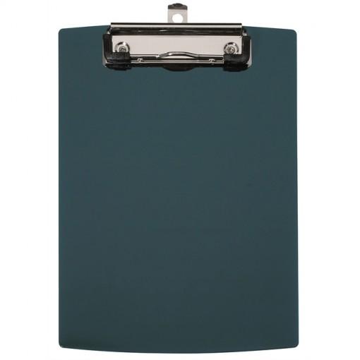 Maul A5 Schreibplatte Kunststoff mit Bügelklemme schwarz