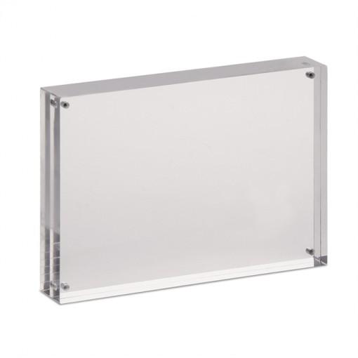 Maul Acryl-Bilderhalter, 15 x  11,5 x 2,4 cm transparant