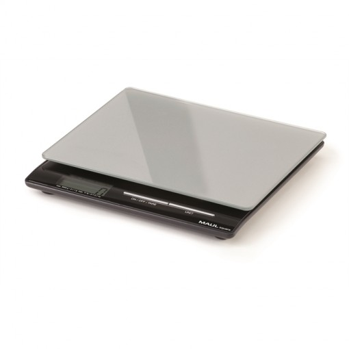 Maul Briefwaage MAULsquare mit Batterie, 5000 g silber