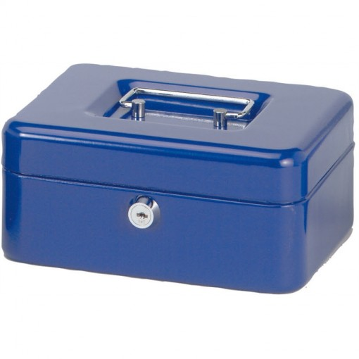 Maul Geldkassette 2, 20 x 17 x 9 cm blau