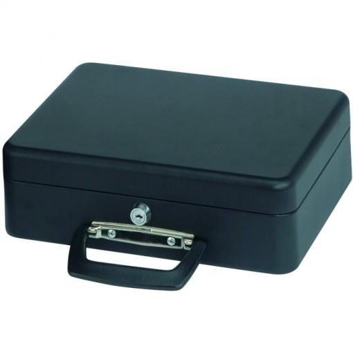 Maul Geldkassette mit Euro-Zähl- -Einsatz, 30 x 25,5 x 9,3 cm schwarz