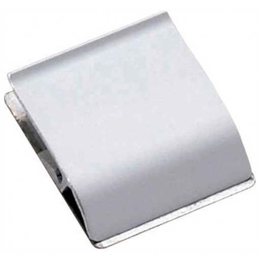 Maul Klemmleiste Aluminium, Länge 3,5 cm Aluminium
