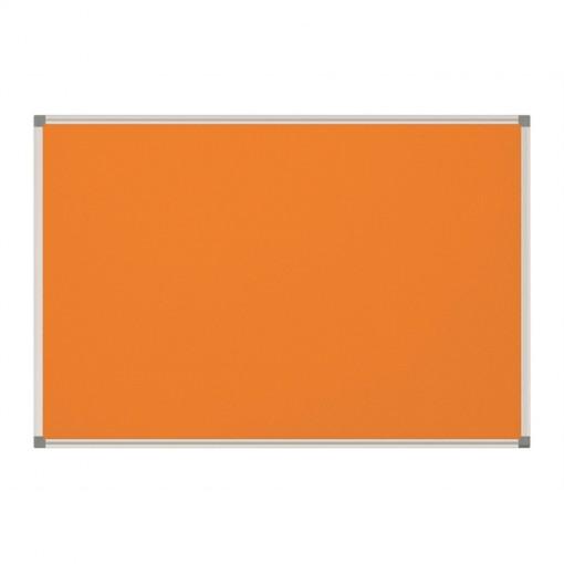 Maul Pinnboard MAULstandard, Textil orange