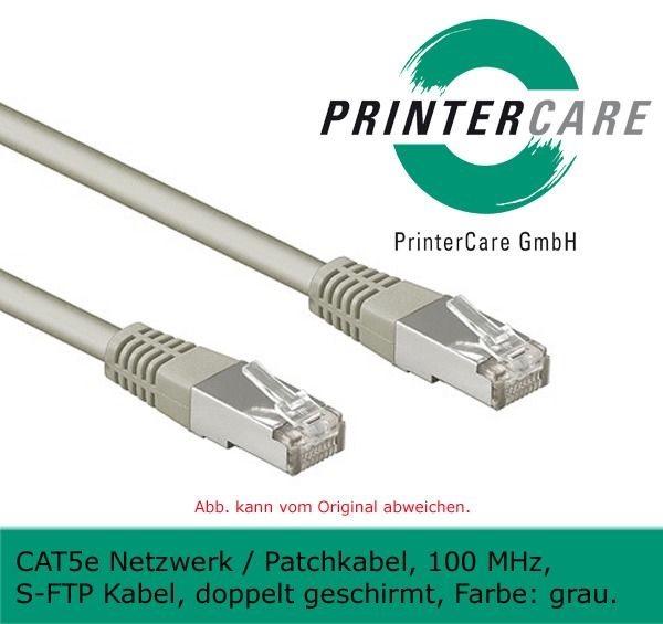 Netzwerkkabel / Patchkabel 5 m, grau