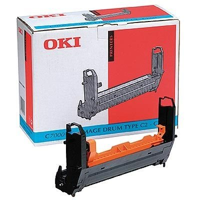 OKI Bildtrommel cyan für C7000/C7200/C7400