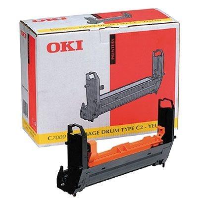 OKI Bildtrommel gelb für C7000/C7200/C7400