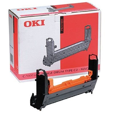 OKI Bildtrommel magenta für C7000/C7200/C7400