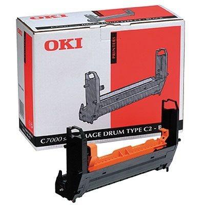 OKI Bildtrommel schwarz für C7000/C7200/C7400