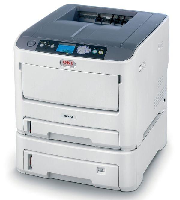 OKI C610DTN Farb-LED-Drucker