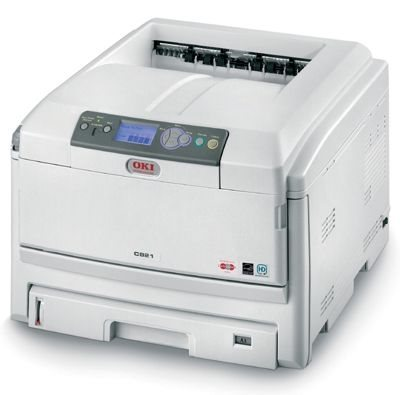 Oki C821DN Farblaserdrucker A3