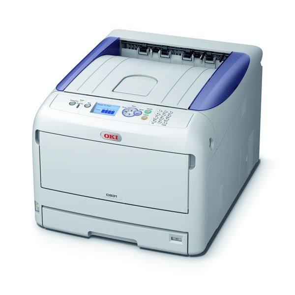 Oki C831DN Farblaserdrucker A3