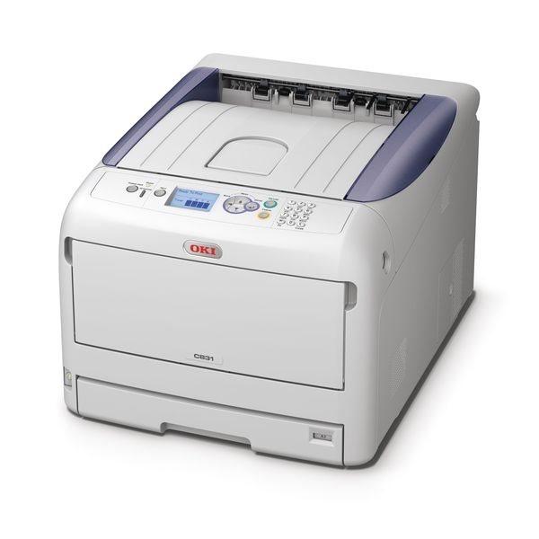Oki C831N Farblaserdrucker A3