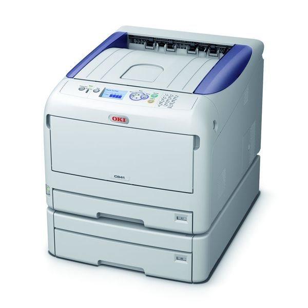 Oki C841CDTN Farblaserdrucker A3