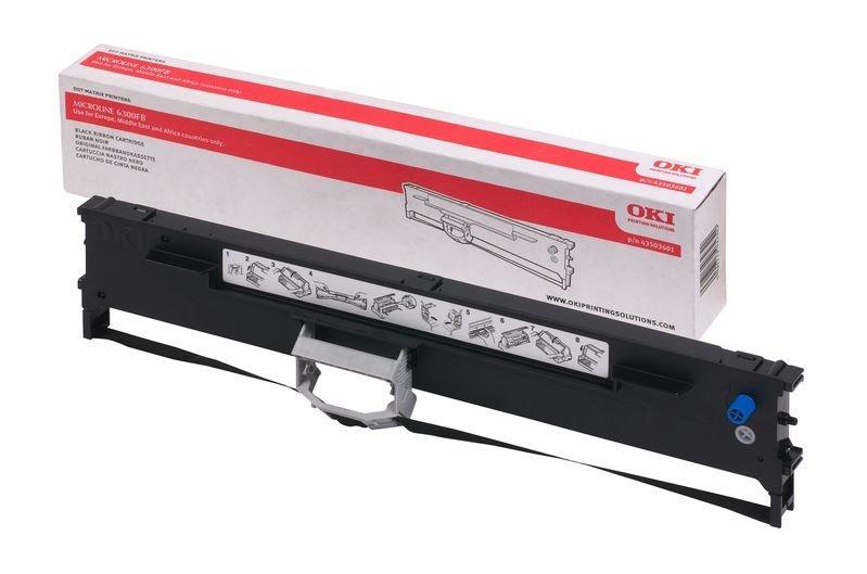 Oki Farbband schwarz für ML6300FB, 43503601
