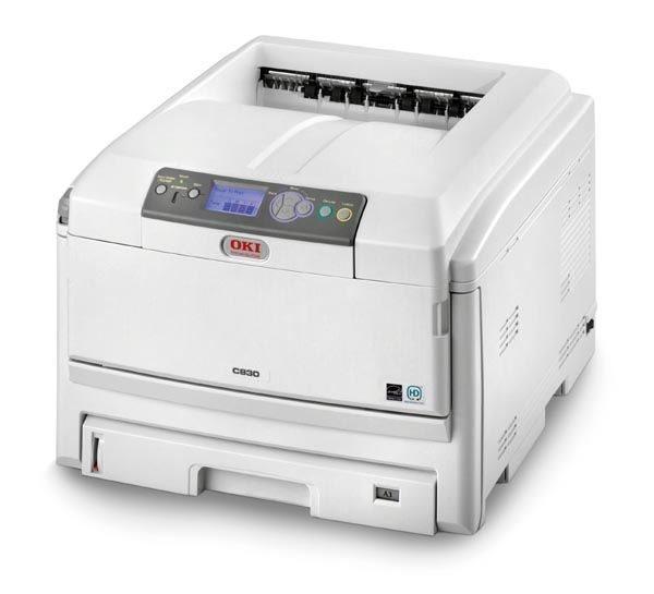 OKI Farblaserdrucker C830N A4/A3