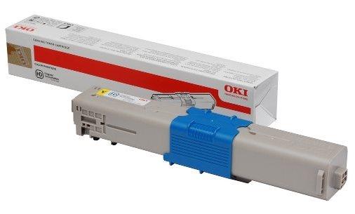 OKI Original - Toner gelb -  46490401