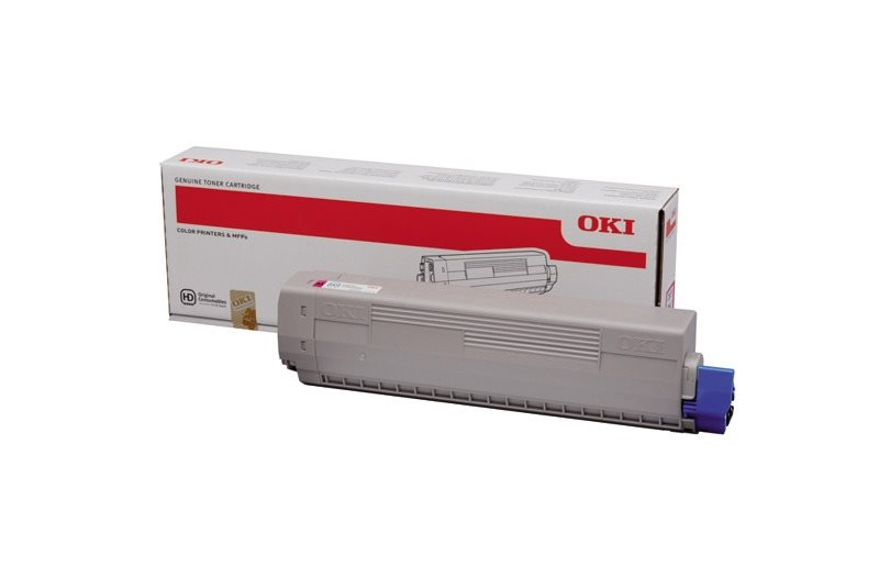 OKI Original - Toner magenta -  46443102