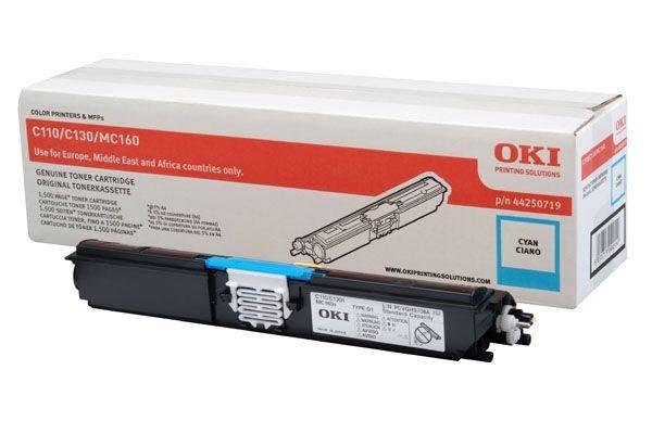 Oki Toner cyan für C110/130 - 44250719