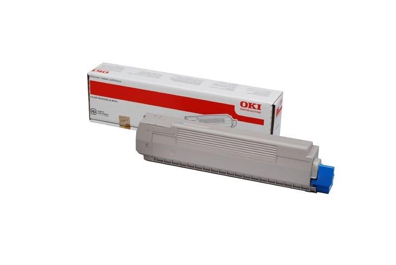 OKI Toner cyan für MC861DN, MC861CDTN, MC861CDXN,