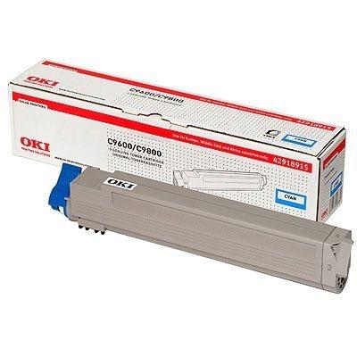 Oki Toner cyan für OKI C9600/C9800 - 42918915