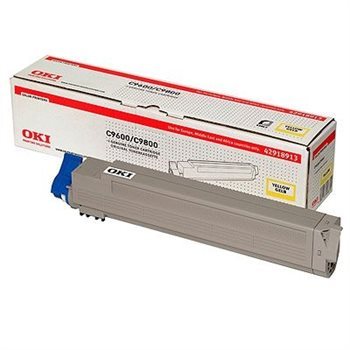 Oki Toner gelb für OKI C9600/C9800 - 42918913
