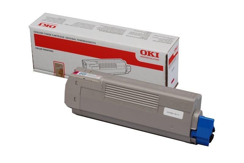 Oki Toner magenta für C610 - 44315306