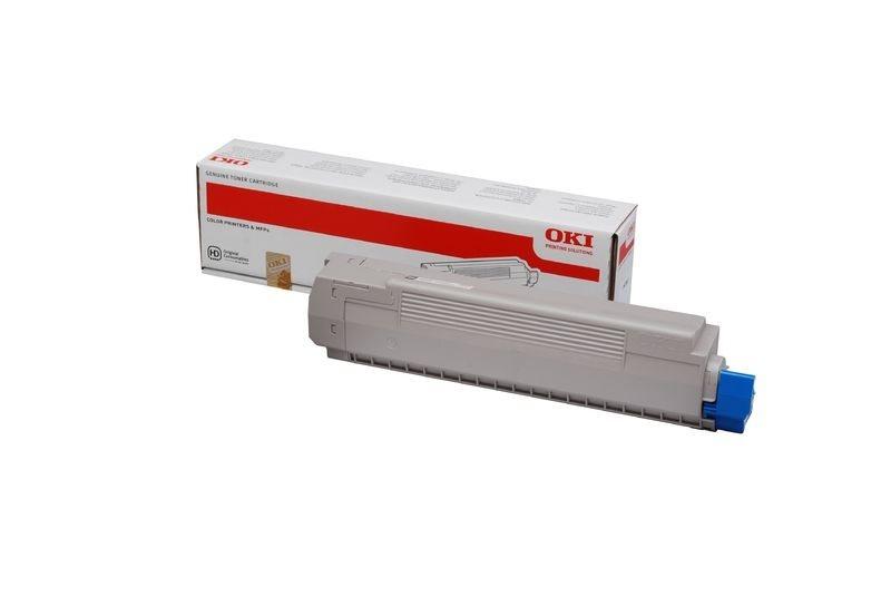 OKI Toner magenta für MC851, MC861 für ca. 7300