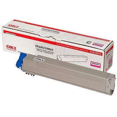 Oki Toner magenta für OKI C9600/C9800 - 42918914