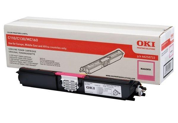 Oki Toner magenta HC für C110/130 - 44250722