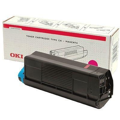 OKI Toner Original für C3100, magenta