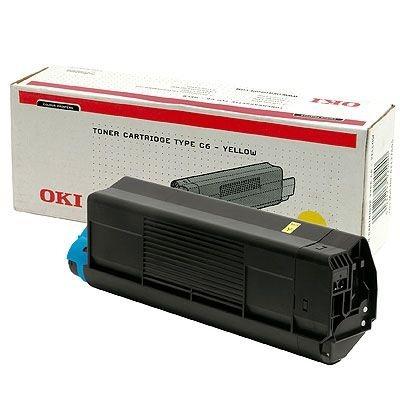 OKI Toner Original für C3100, yellow
