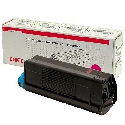 OKI Toner Original für C5100, magenta, 42127406