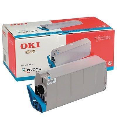 OKI Toner Original für C7000/C7200/C7400, cyan