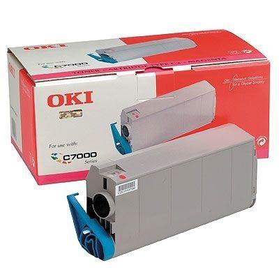 OKI Toner Original für C7000/C7200/C7400, magenta