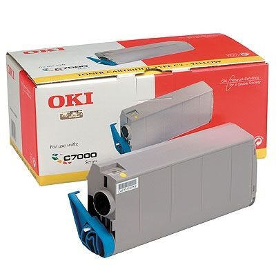 OKI Toner Original für C7100/7300/7350/7500, gelb