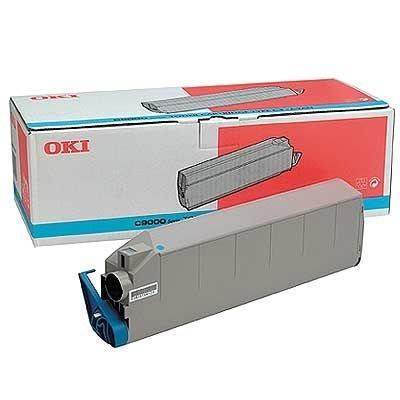 OKI Toner Original für C9000/C9200/C9400, cyan