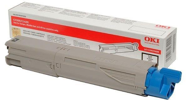 Oki Toner schwarz - C3450N/C3400N/C3300N, 43459332