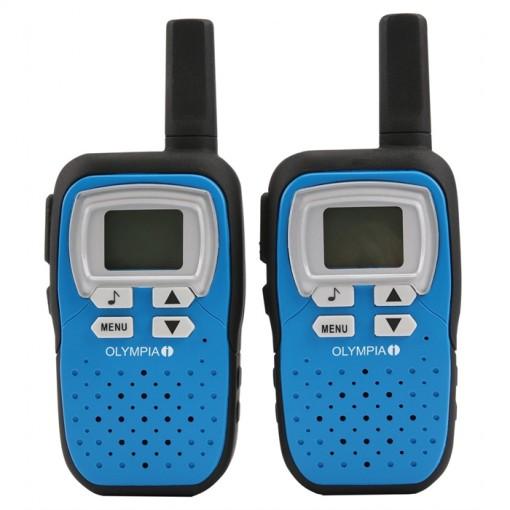 OLYMPIA PMR1208B -  Walkie Talkie,8 Kanäle, 8 km Reichweite, blau