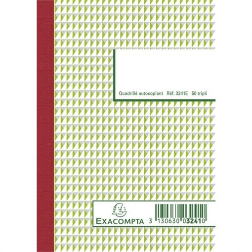 ORDER-BOOK TRIPLICATE 148X105 CARBON 50S