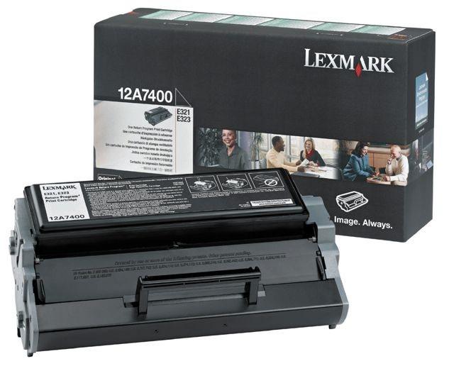 Original Druckkassette für Lexmark E321/323