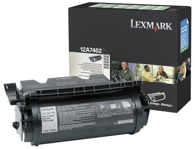 Original Druckkassette für Lexmark T630 - 12A7462