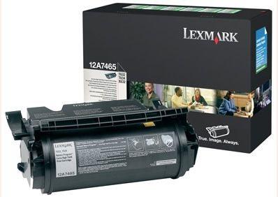 Original Druckkassette für Lexmark T632 - 12A7465