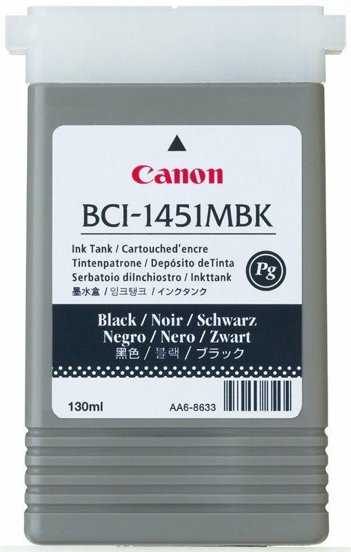 Original Tintenpat. für Canon W6400 - mattschwarz